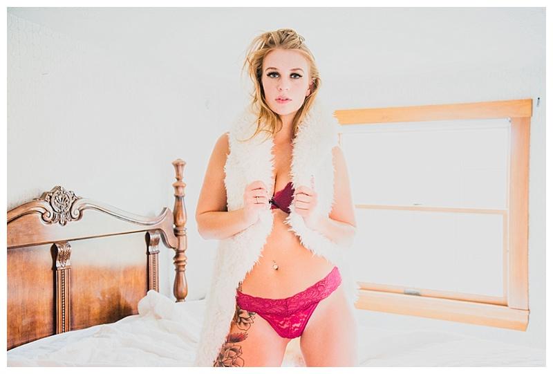 brighde | natural light boudoir