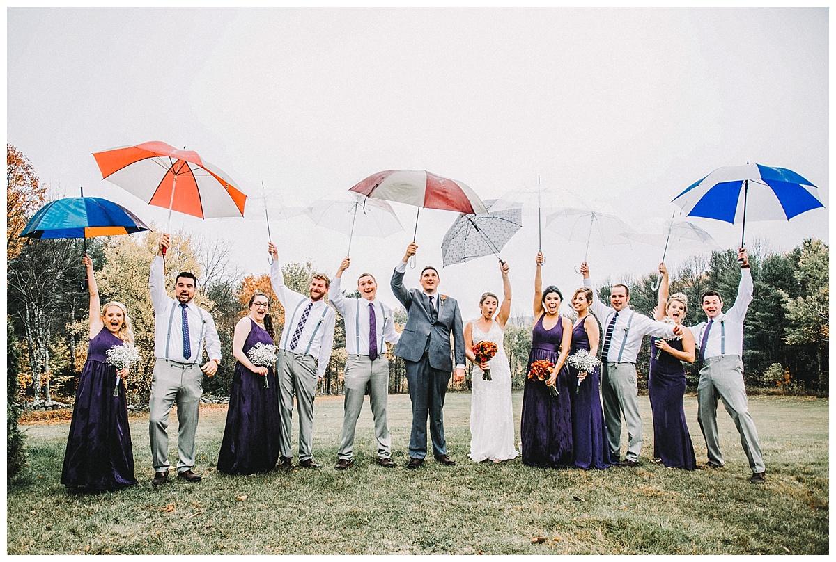 Kenneth + Loren | Stunning Rainy Fall Wedding