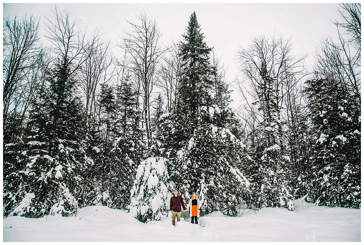 Kimberlei + Bryan | Magical Winter Engagement