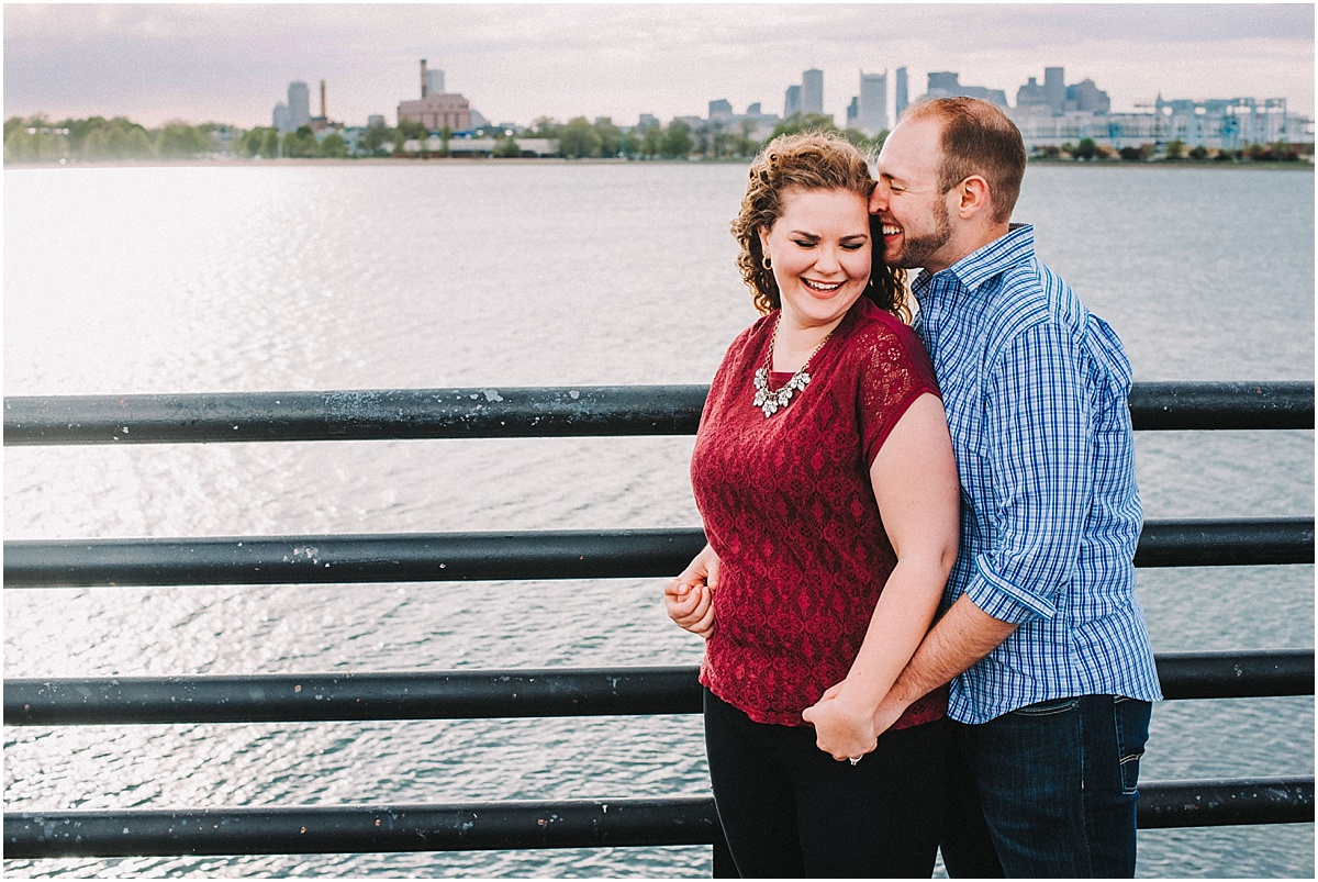 abby + steve | boston spring engagement