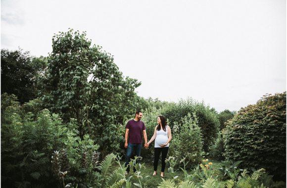 becca + mike | garden maternity